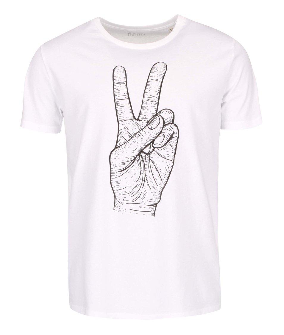 Bílé pánské triko ZOOT Originál Velkej peace