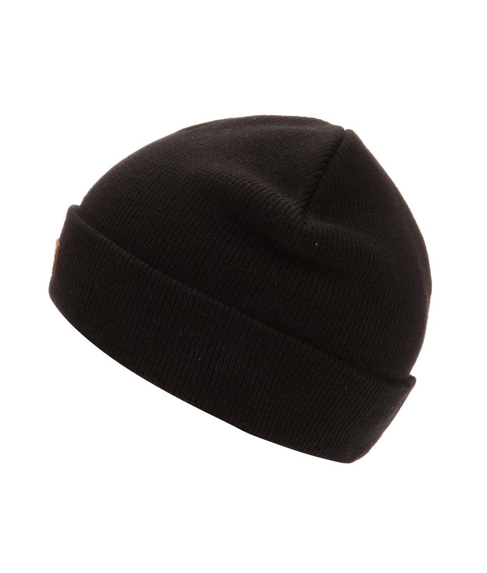 Černá čepice s logem Jack & Jones Beanie