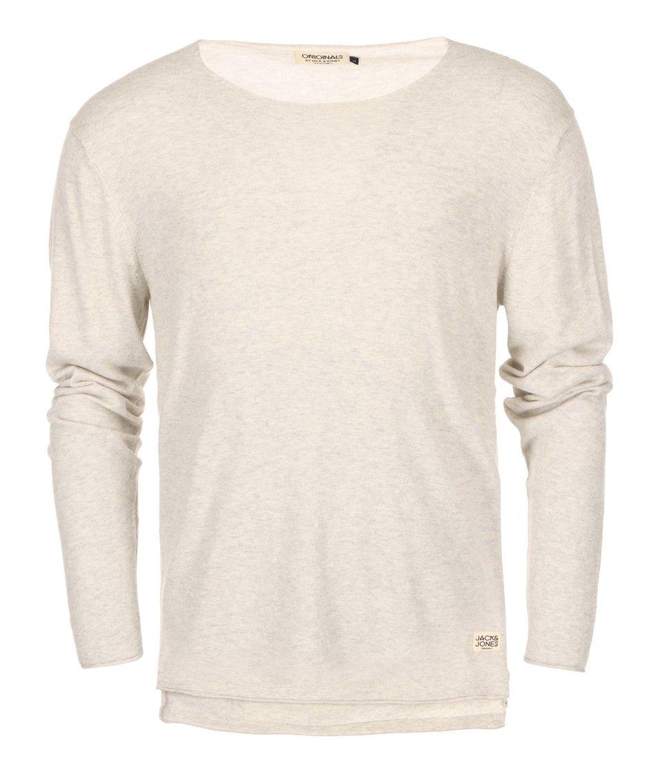 Světle šedý svetr Jack & Jones Clean