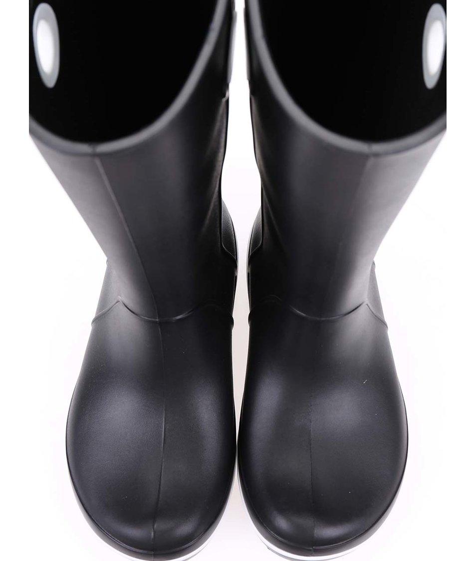 Černé dámské holínky Crocs Crocband Jaunt
