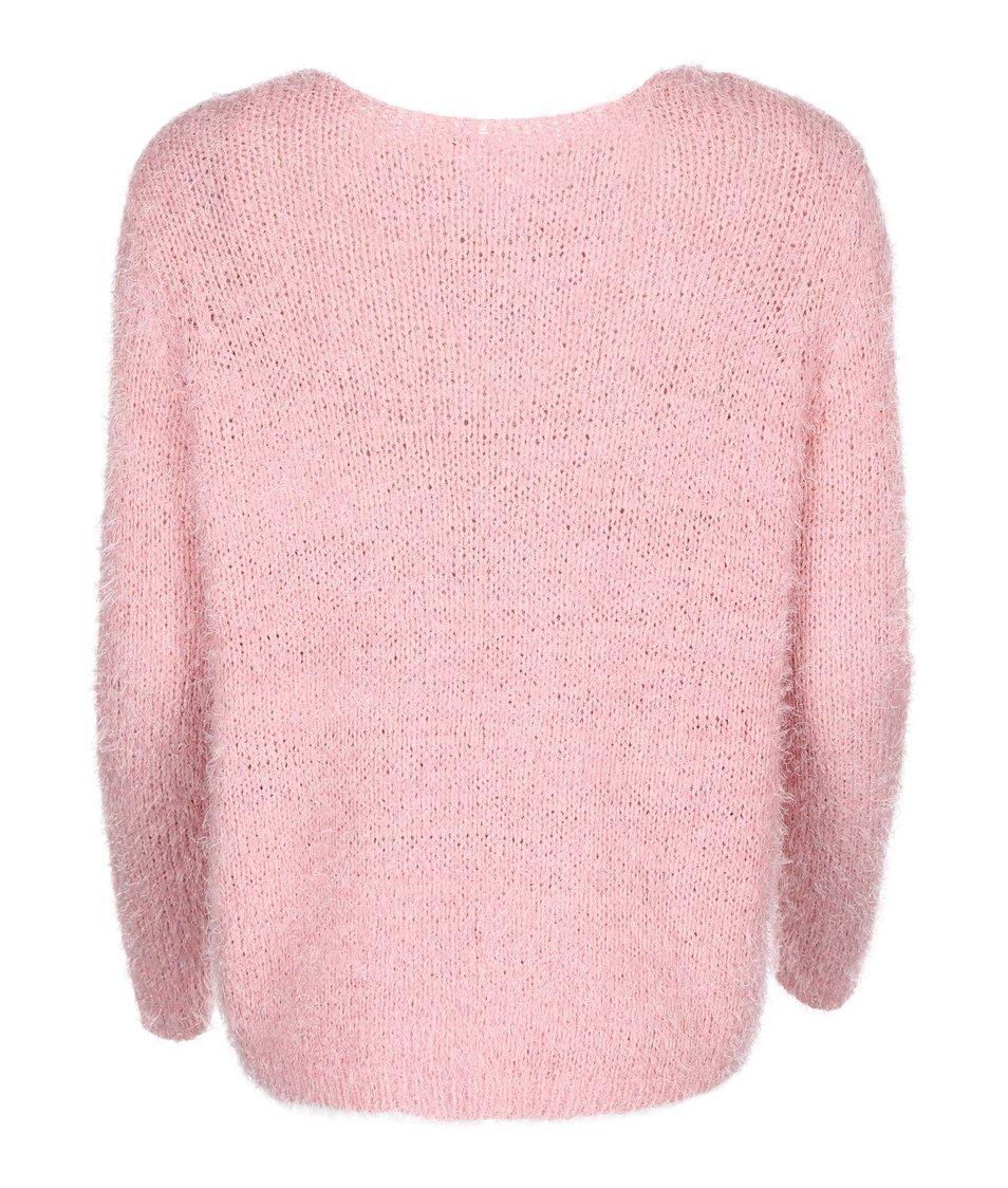 Růžový cardigan ONLY Perfect