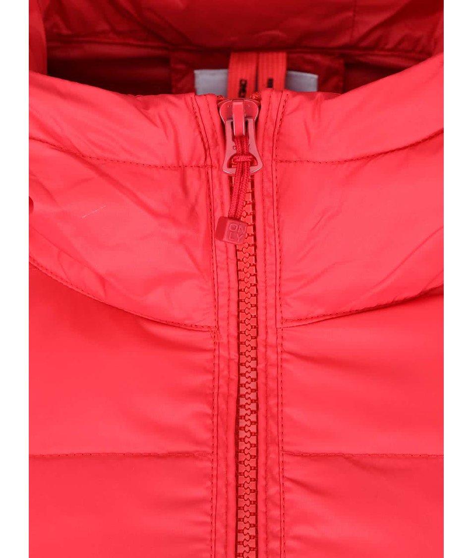 Červená bunda ONLY Tahoe