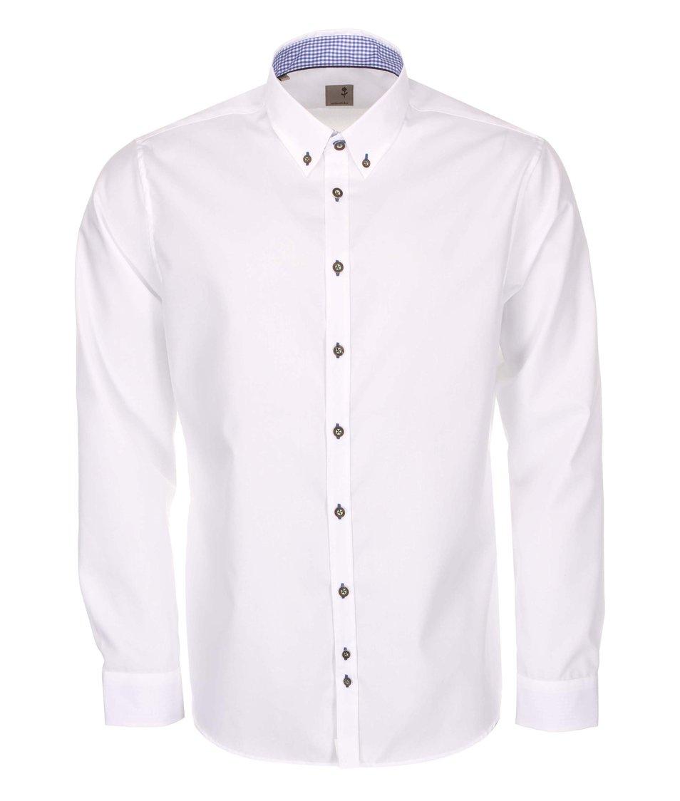 Bílá košile Seidensticker Remy Tape City Slim Fit