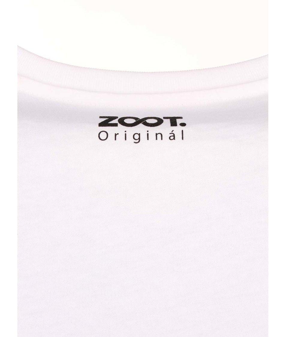 Bílé pánské triko ZOOT Originál Rock