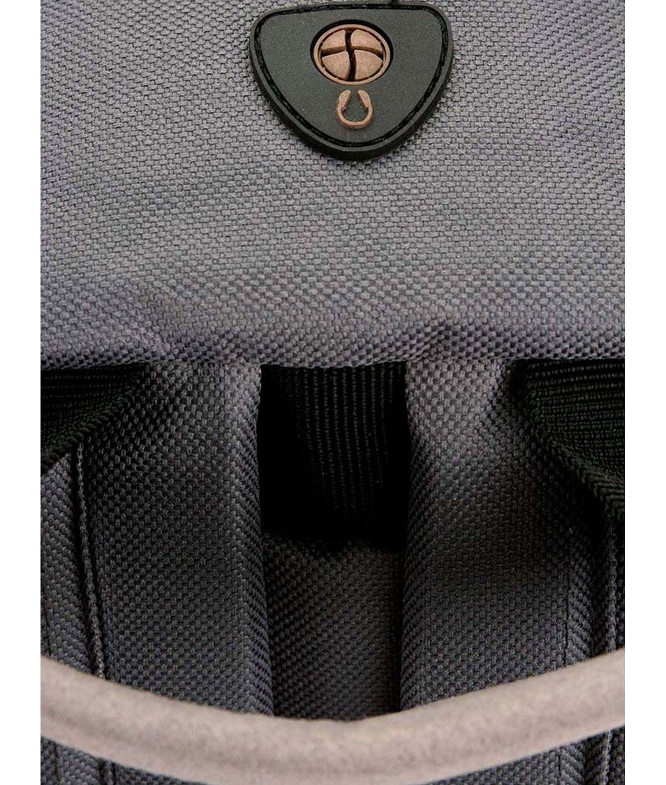 Šedý unisex batoh Mi-Pac Classic