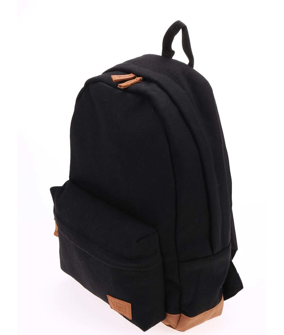 Hnědo-černý batoh Vans Deana III
