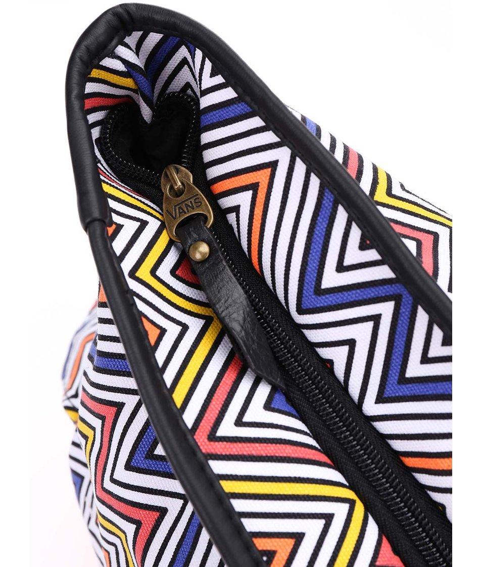 Barevná prostorná taška Vans Peace