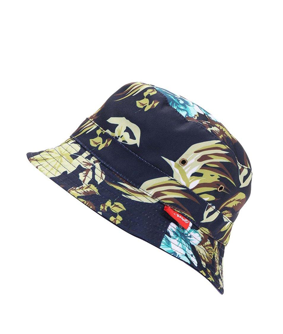 Tmavě modrý oboustranný klobouk Icon Brand Hawaii Five-O