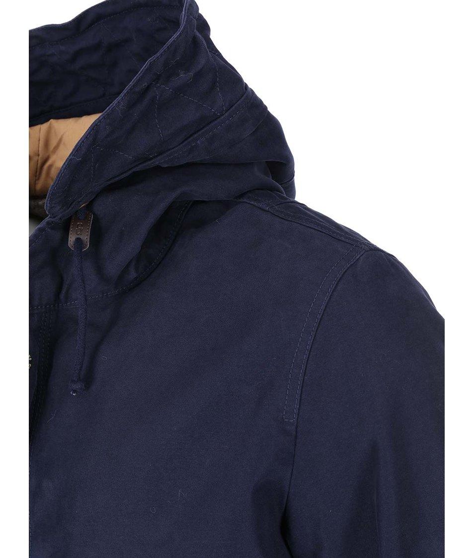 Tmavě modrá bunda s kapucí ONLY & SONS Sonny