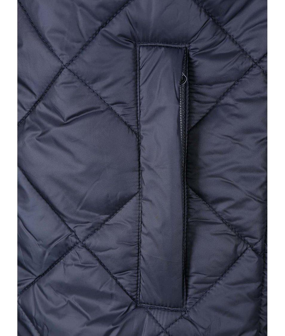 Tmavě modrá prošívaná bunda ONLY & SONS Seymour