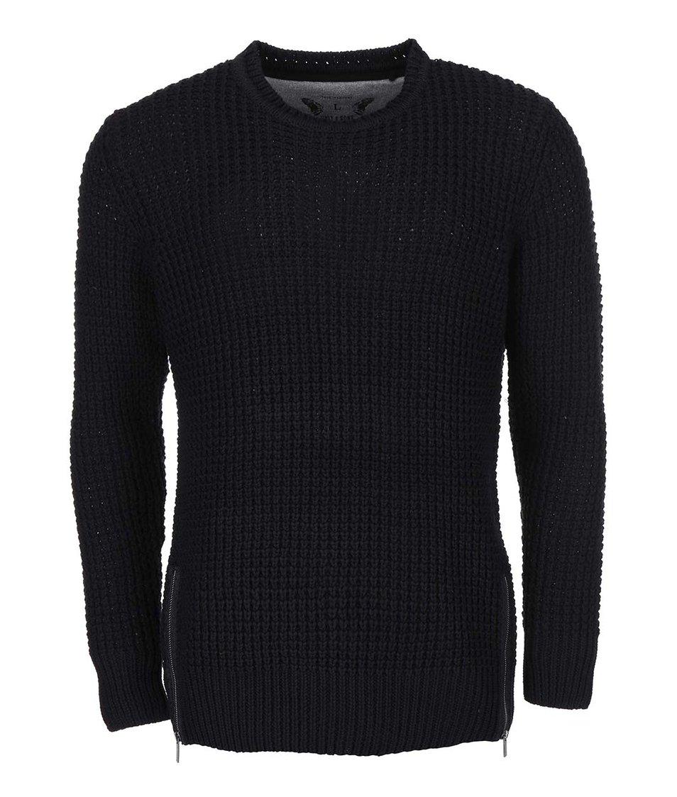 Černý pletený svetr ONLY & SONS Glenn