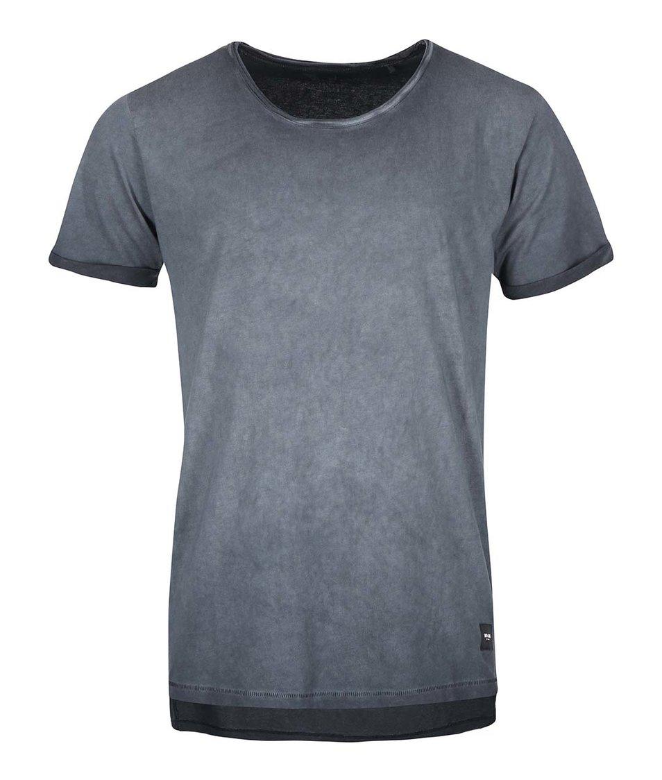 Tmavě šedé triko ONLY & SONS Wallace