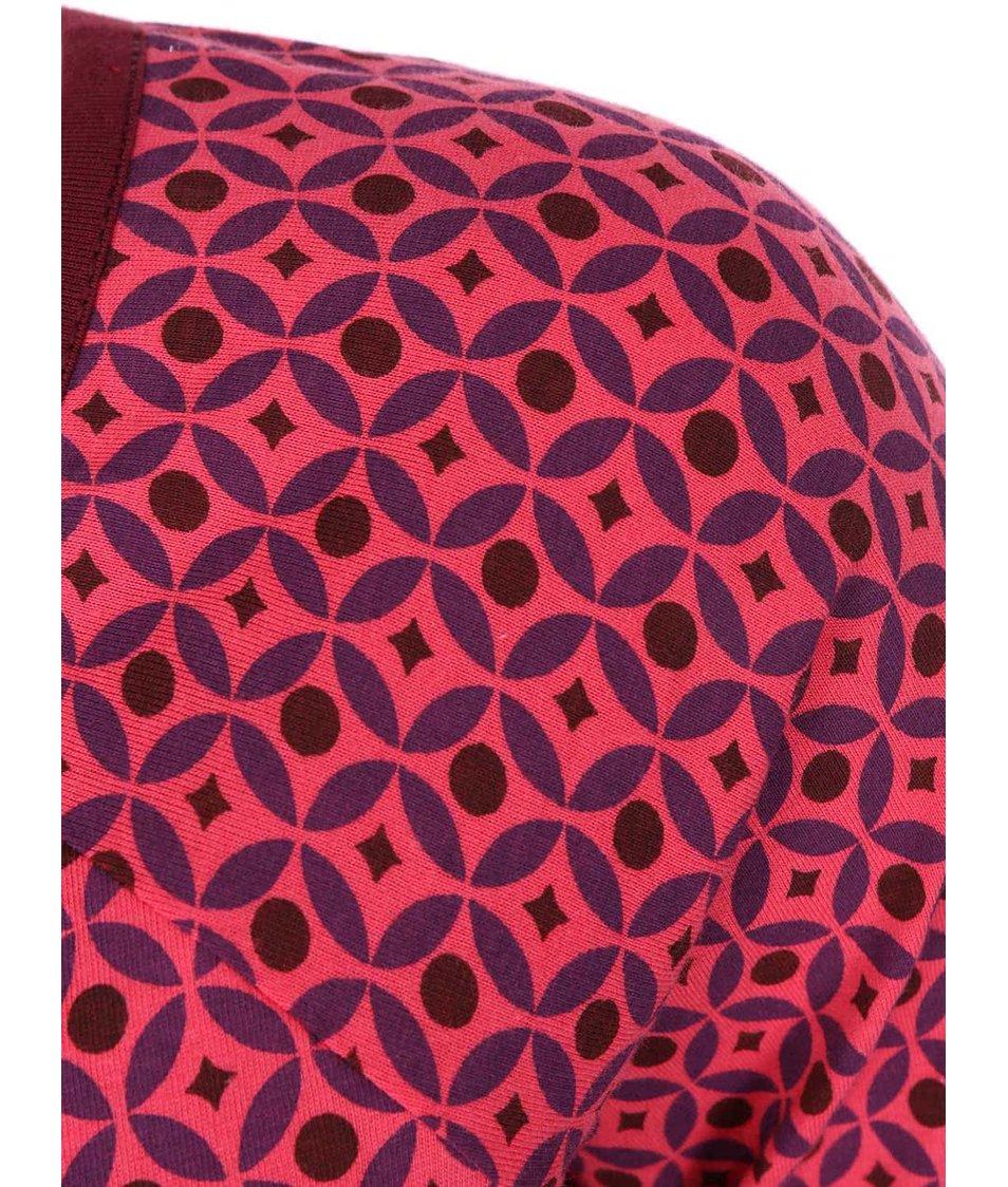 Růžové vzorované šaty Tranquillo Wasilisa
