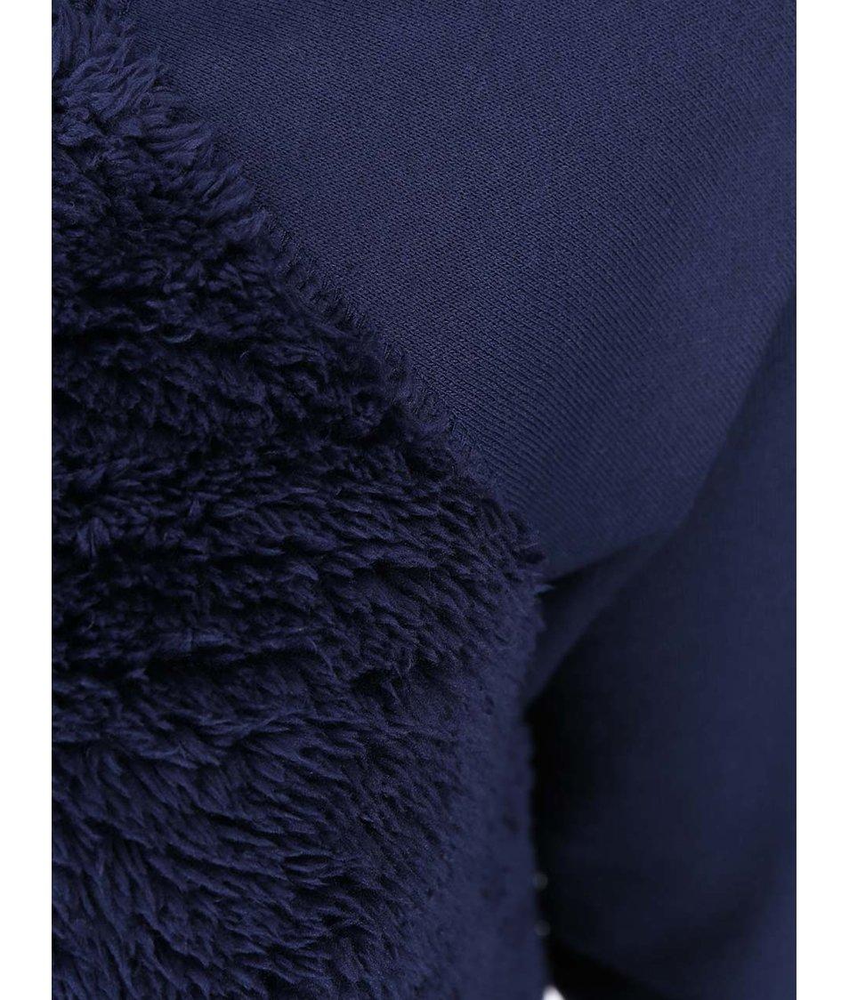 Modrá mikina ONLY Shirly