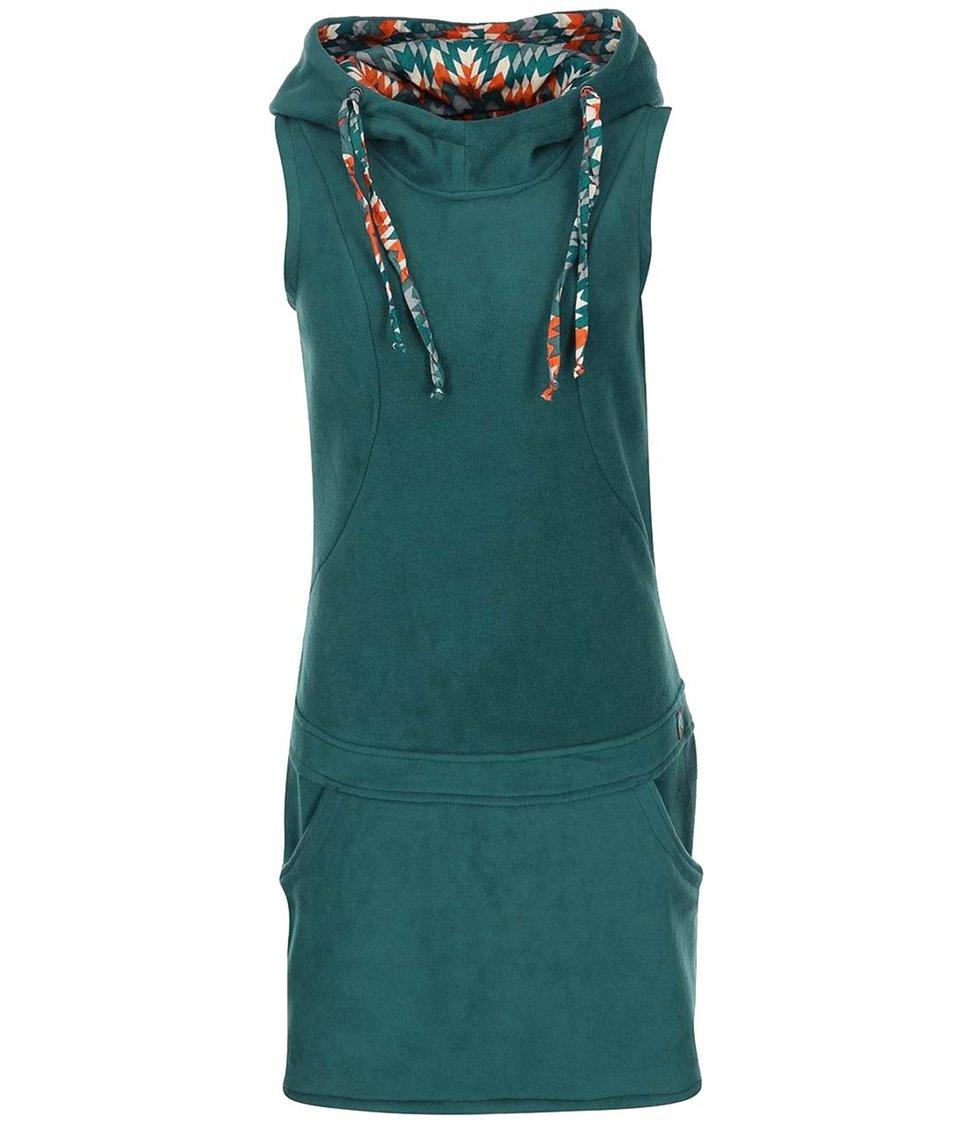 Tyrkysové šaty bez rukávů Tranquillo Schneelein