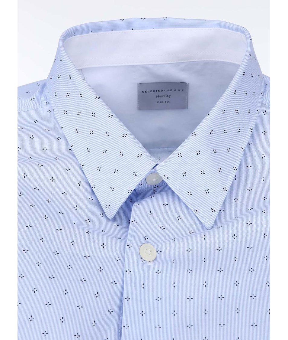 Světle modrá košile Selected Vade