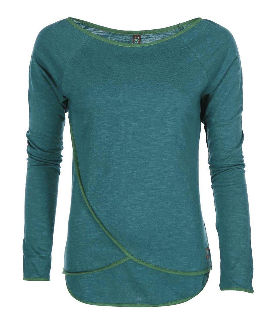 Tyrkysové triko s dlouhým rukávem Tranquillo Simsala