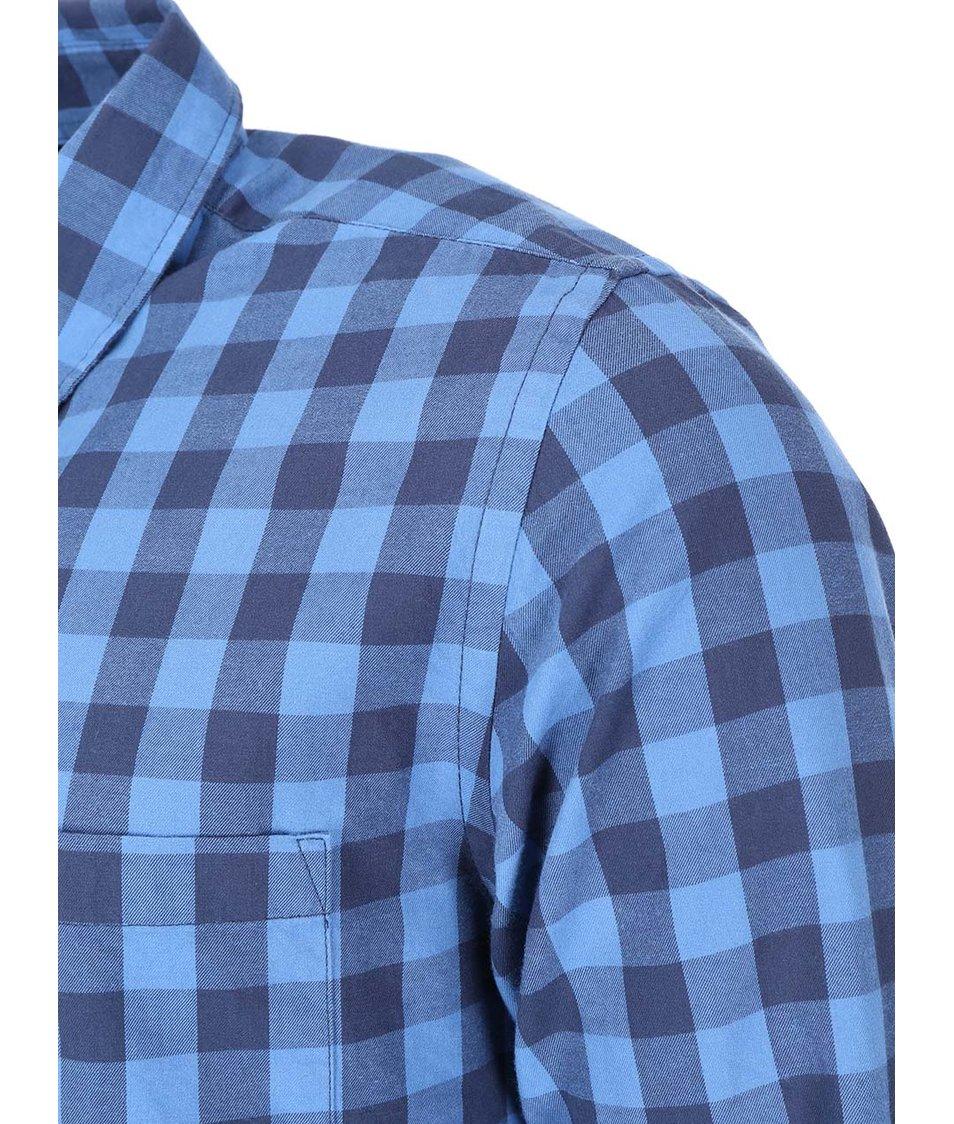 Modrá kostkovaná košile ONLY & SONS Volta