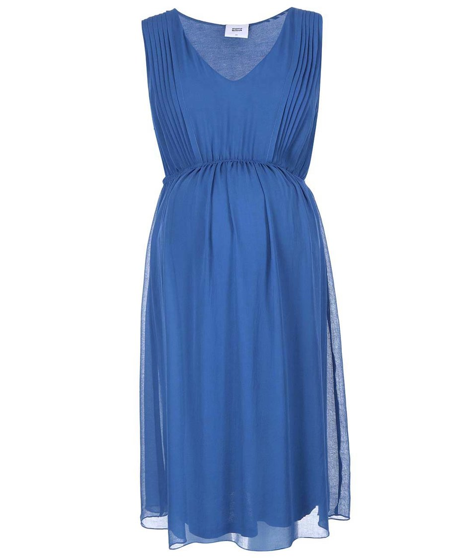 Modré těhotenské šaty Mama.licious Ellis