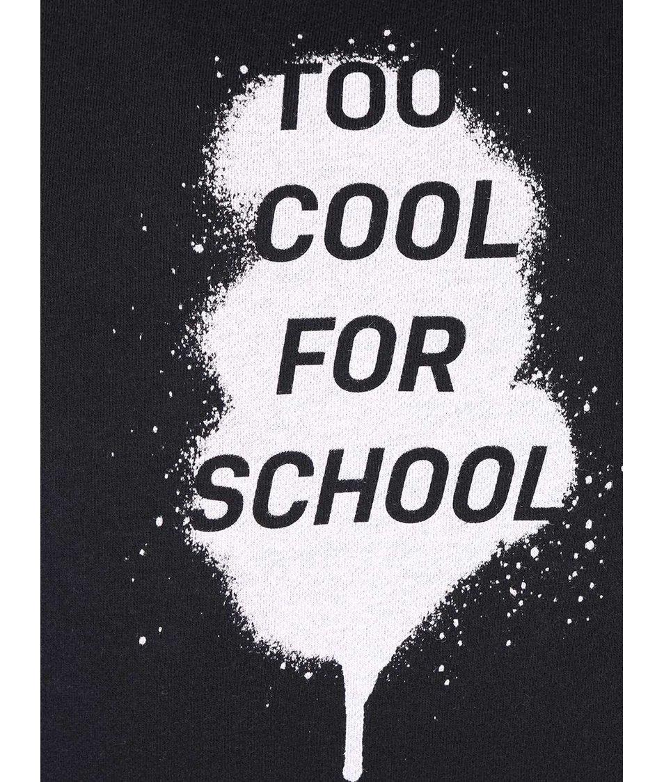 Černá pánská mikina ZOOT Originál Too Cool For School
