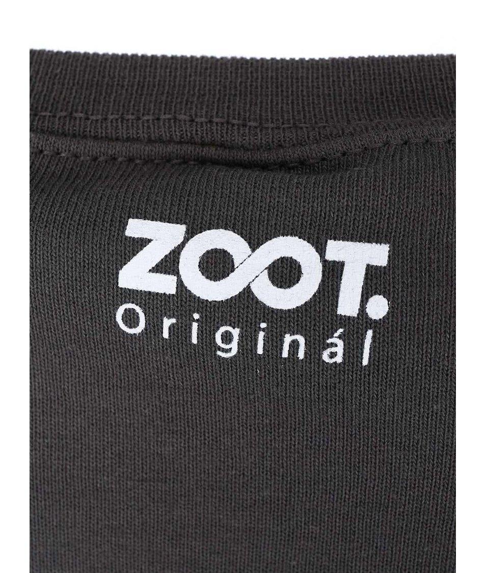 Tmavě šedá dámská mikina ZOOT Originál Too Cool For School