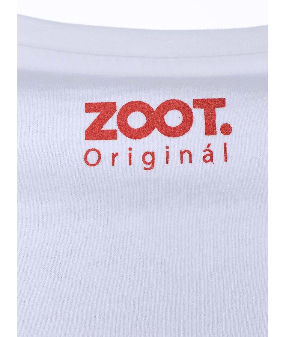 Bílé pánské triko ZOOT Originál Poznámka
