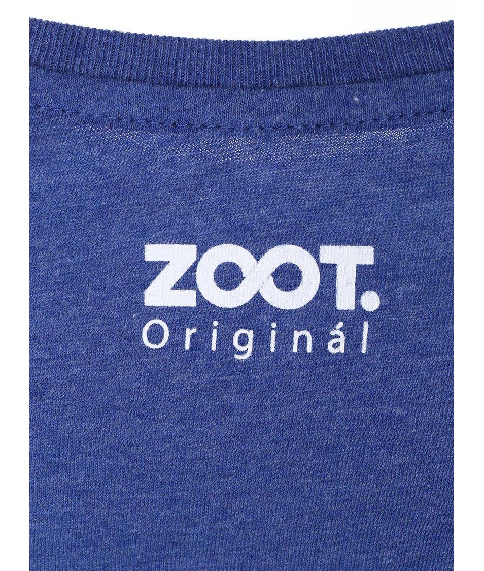 Modré dámské triko ZOOT Originál Sešit