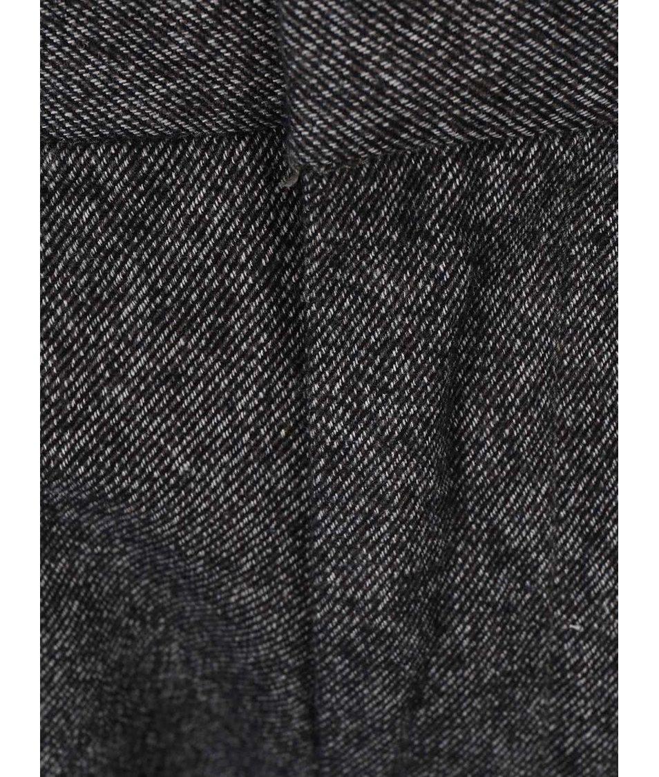 Šedé kalhoty Selected Arval