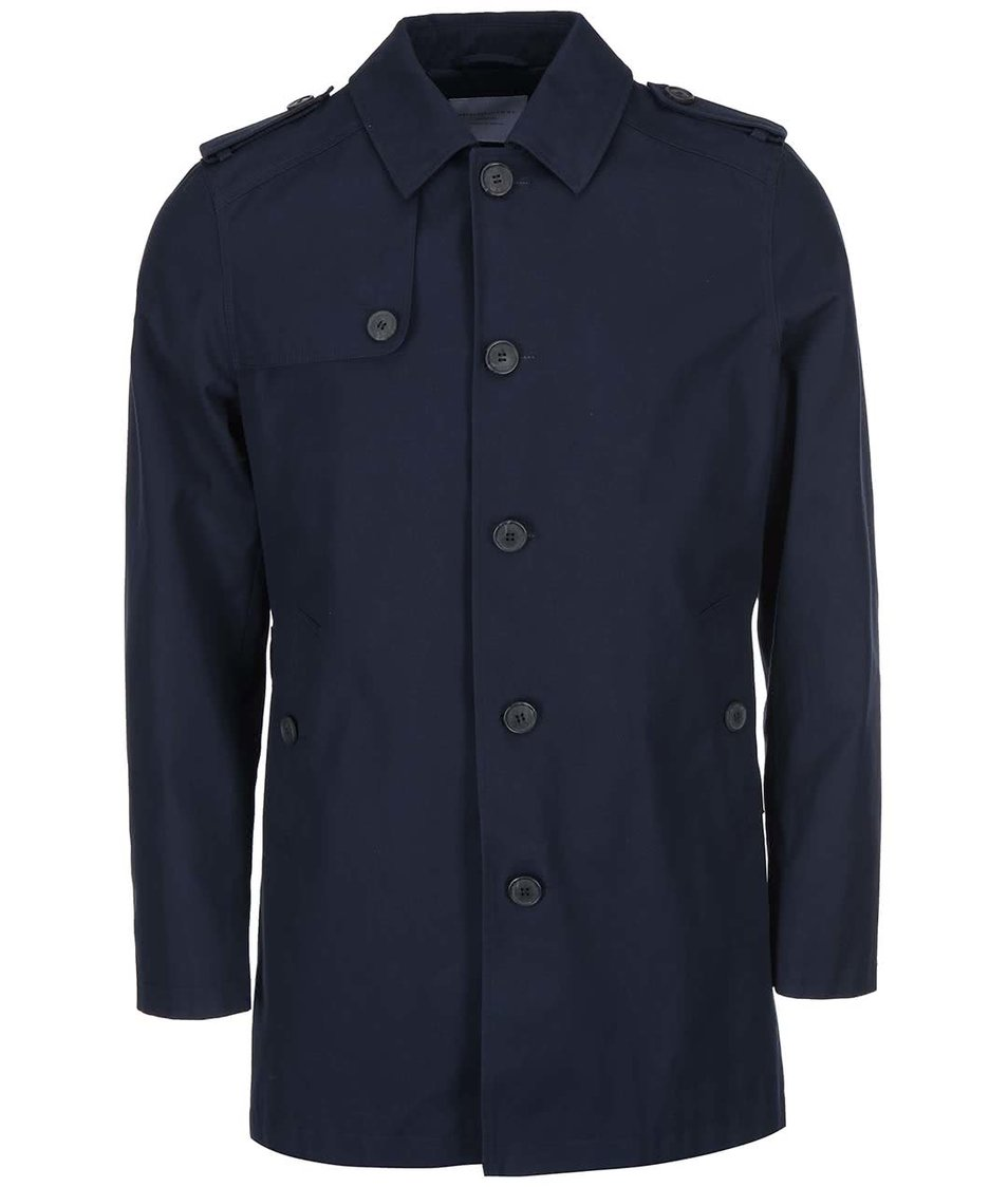 Tmavě modrý kabát Selected Derek