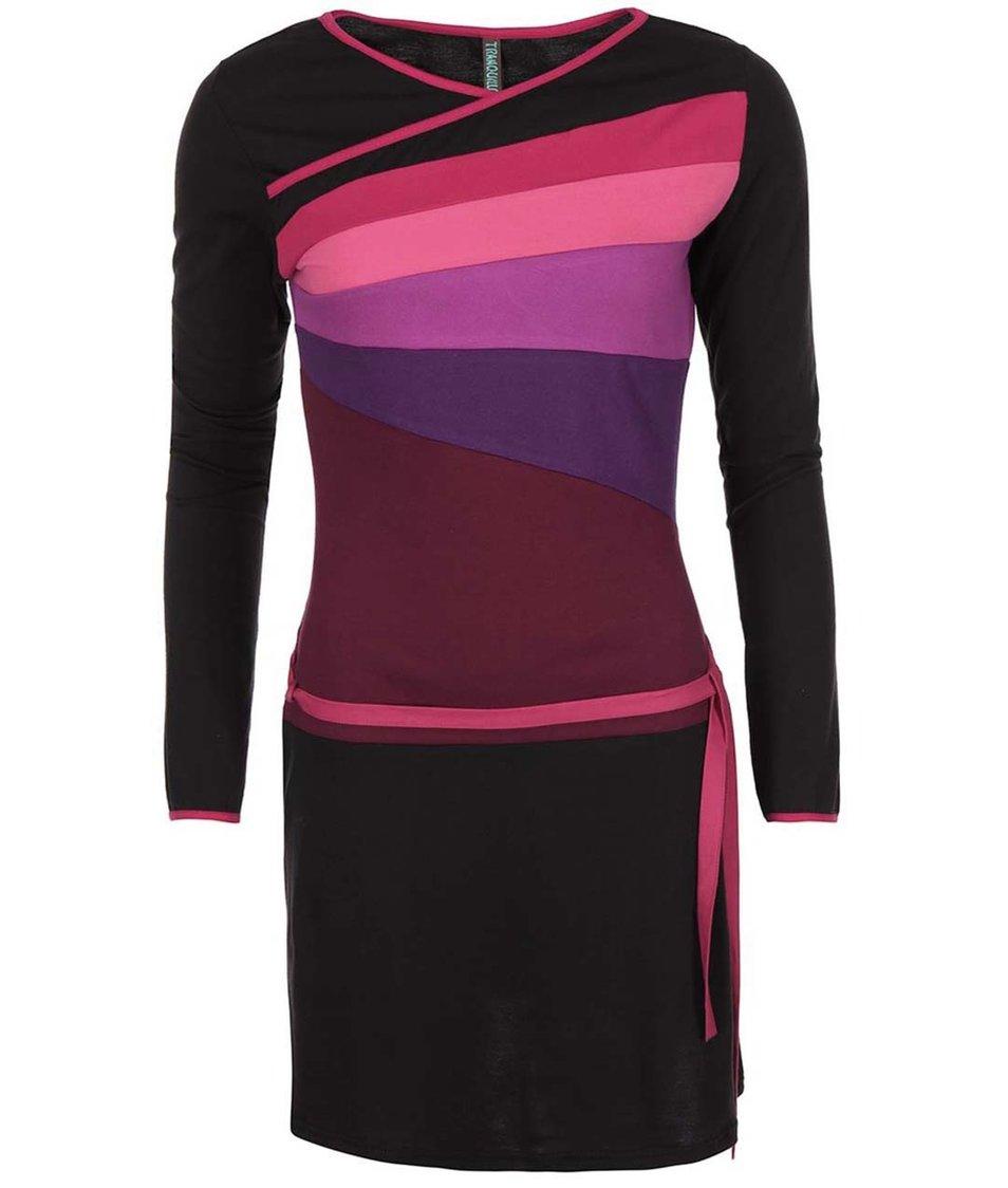 Růžovo-fialové šaty Tranquillo Minotaura