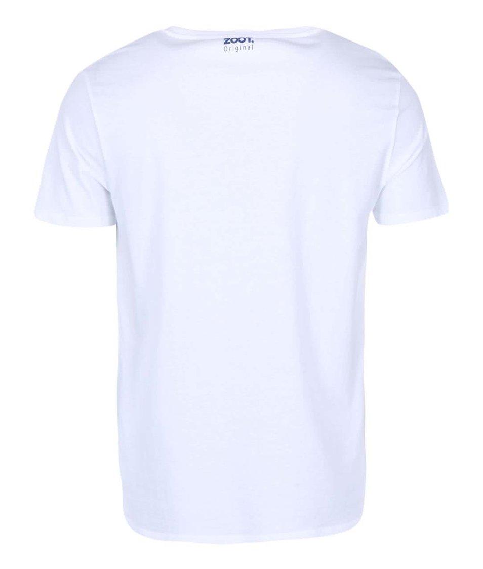 Bílé pánské triko ZOOT Originál Máma mele Emu