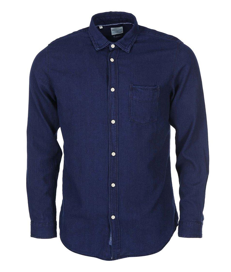 Tmavě modrá košile Selected Low