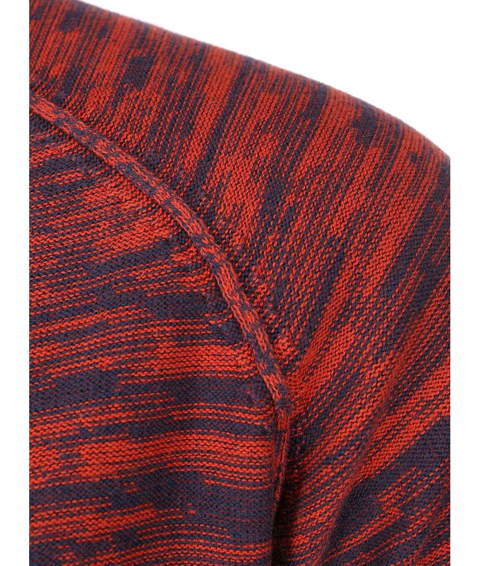 Červený žíhaný svetr Blend