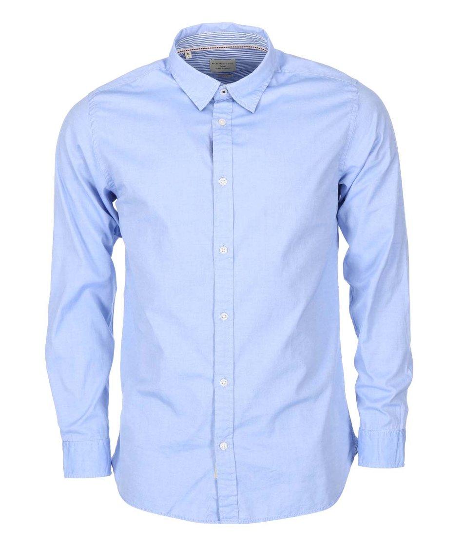 Světle modrá košile Selected Marius