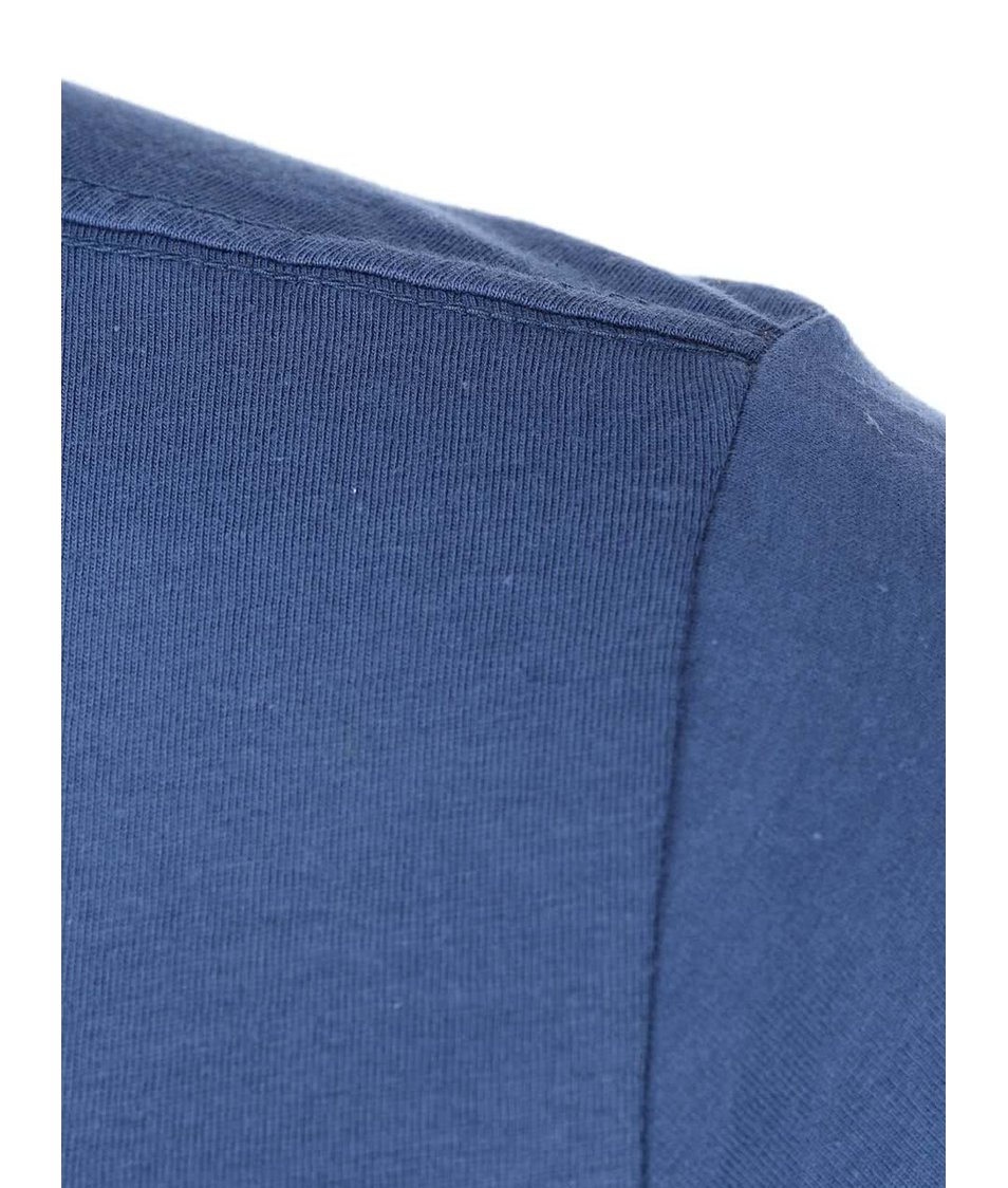 Modré triko s vintage textem Blend