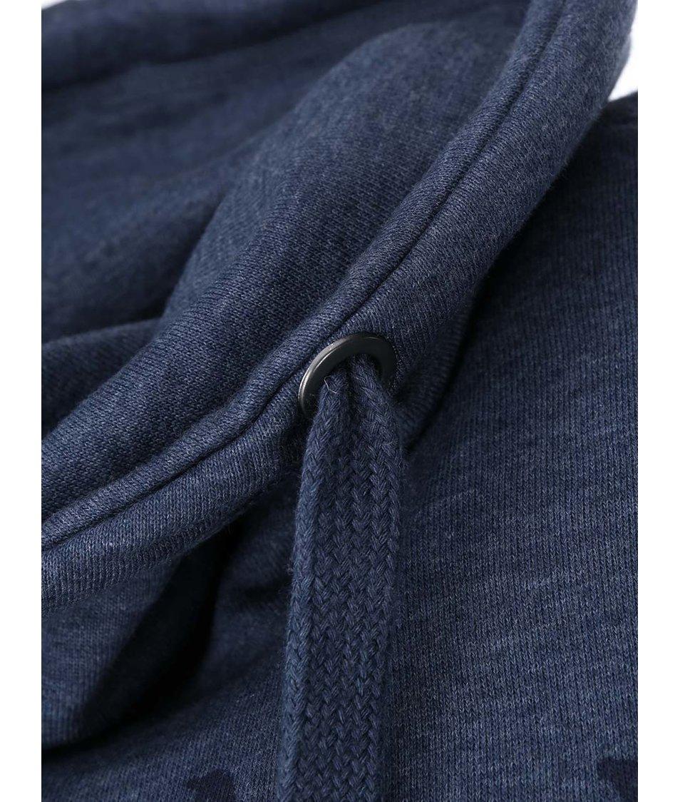 Modrá mikina s límcem Blend