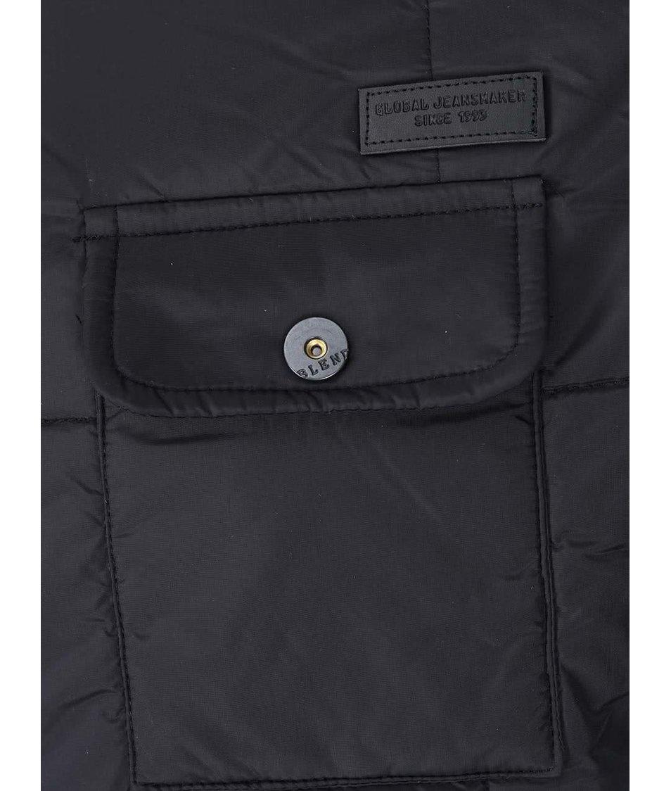 Černá prošívaná bunda Blend