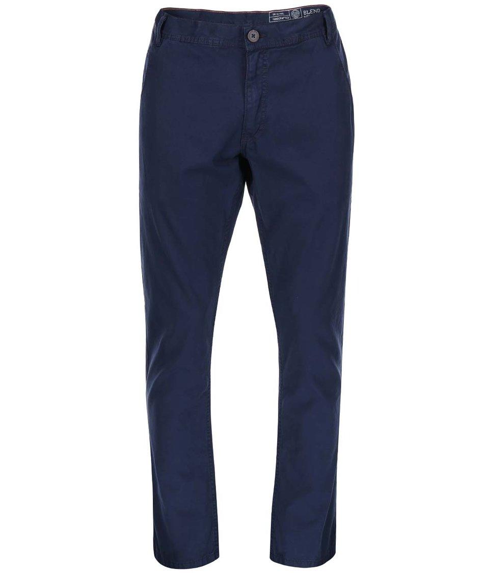 Tmavě modré kalhoty Blend