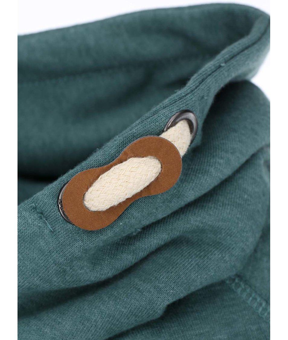 Zelená mikina s kapucí Blend