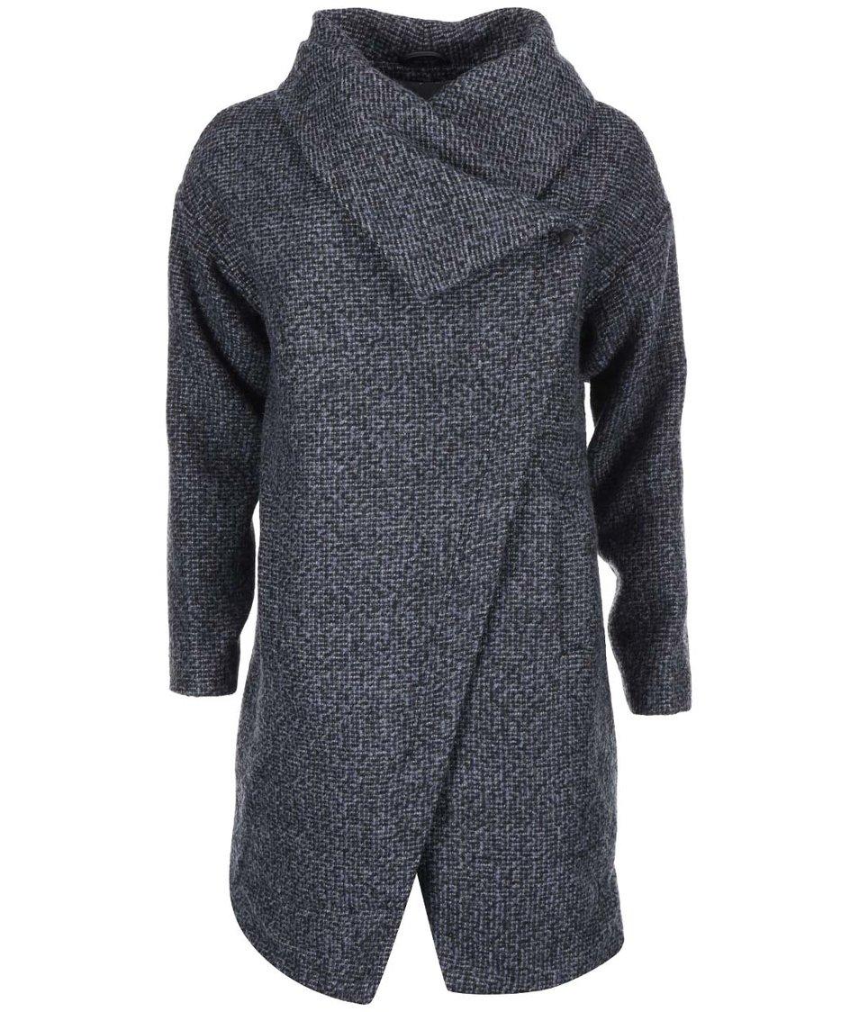 Modro-šedý kabát Vero Moda Nancy