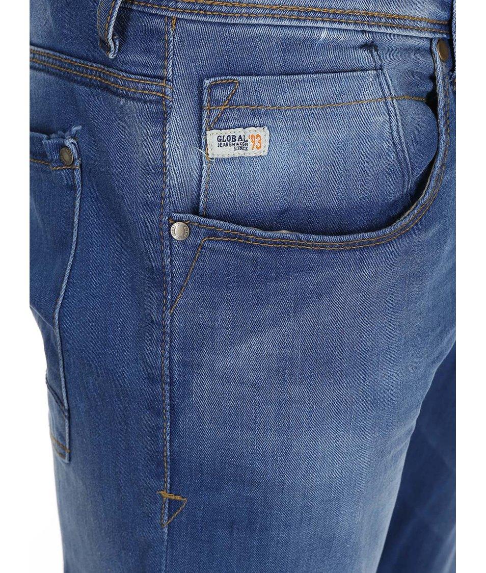 Světle modré skinny džíny Blend