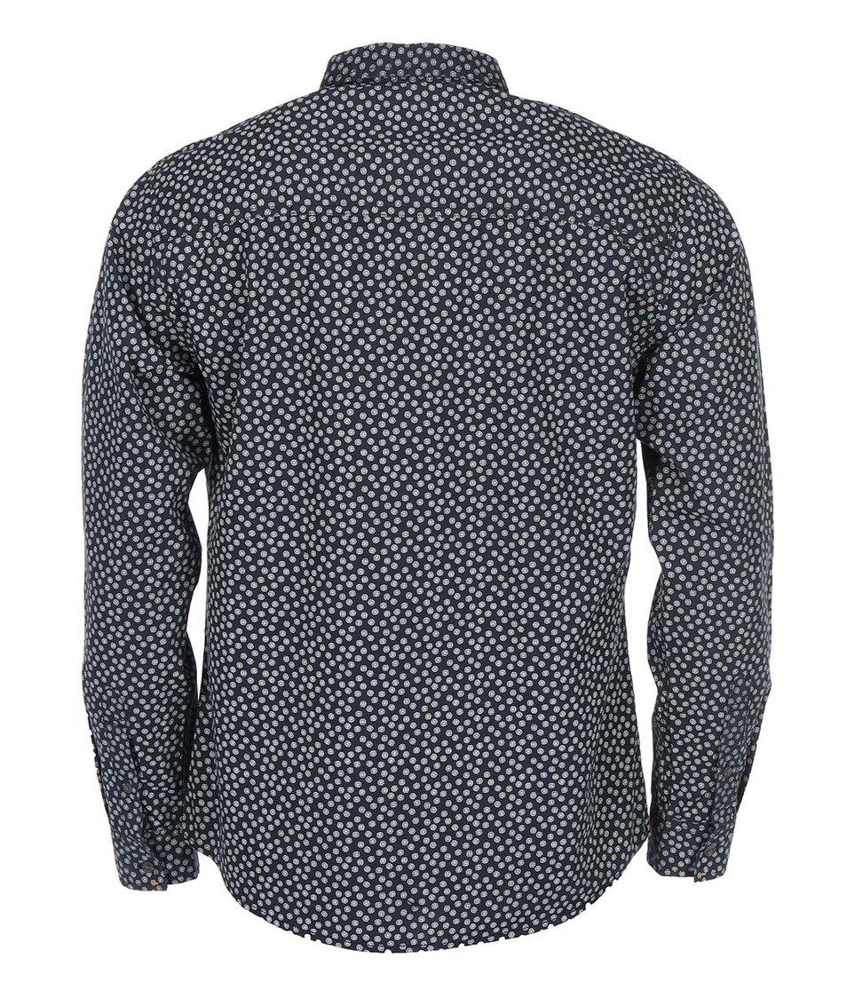 Černá košile se vzorem Blend