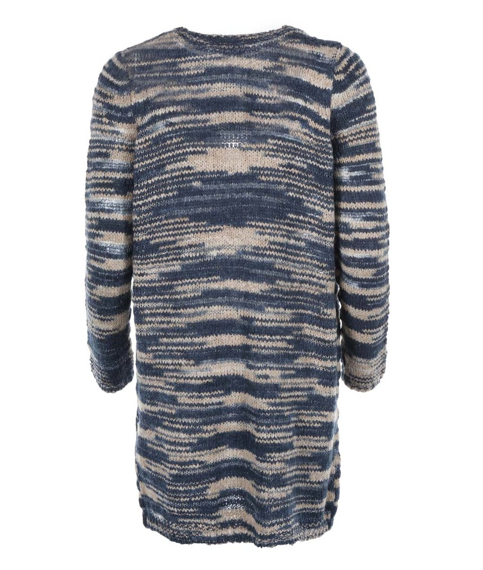 Modrý žíhaný cardigan Vero Moda Dakota