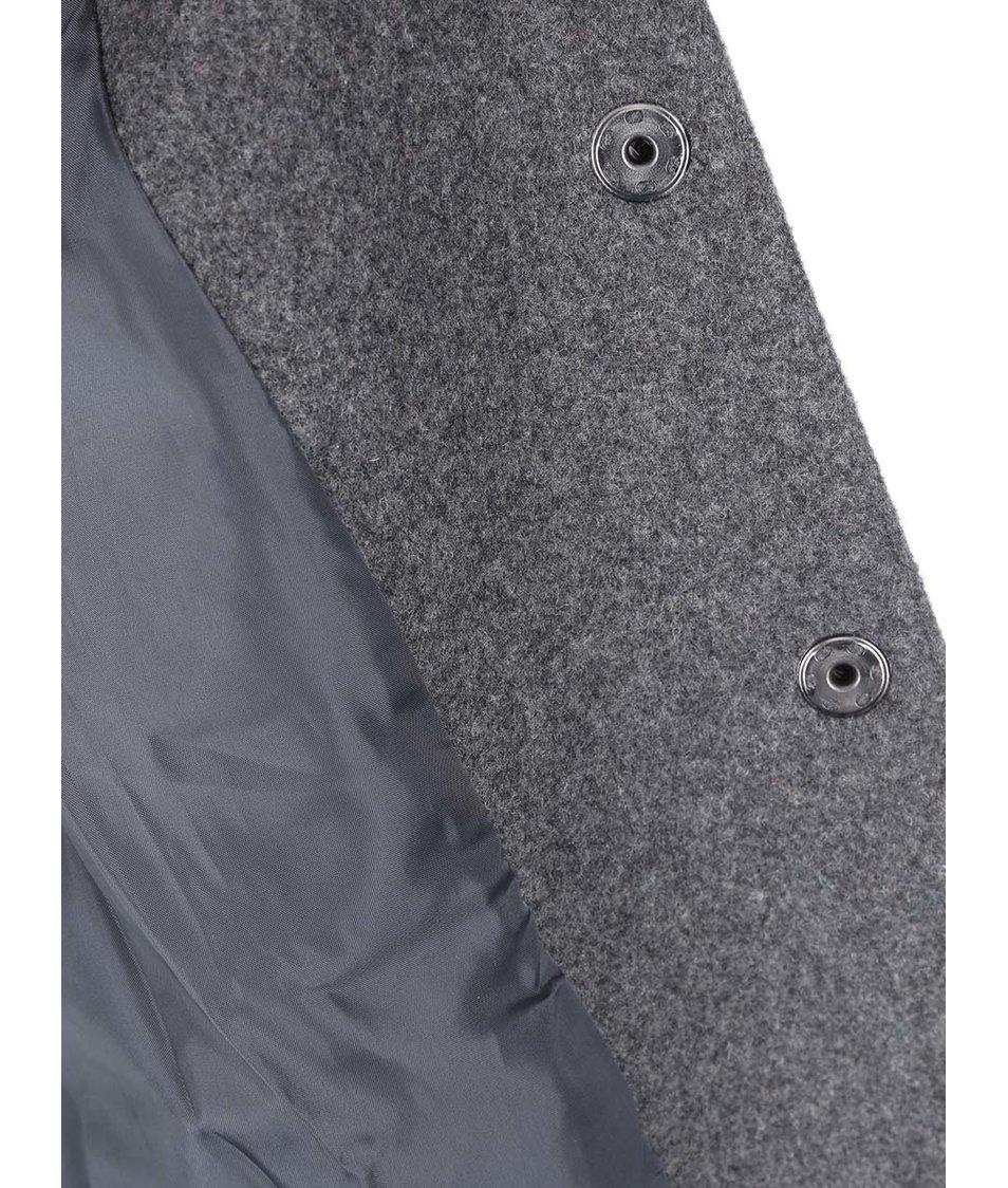 Šedý delší kabát Vero Moda Louise Daisy