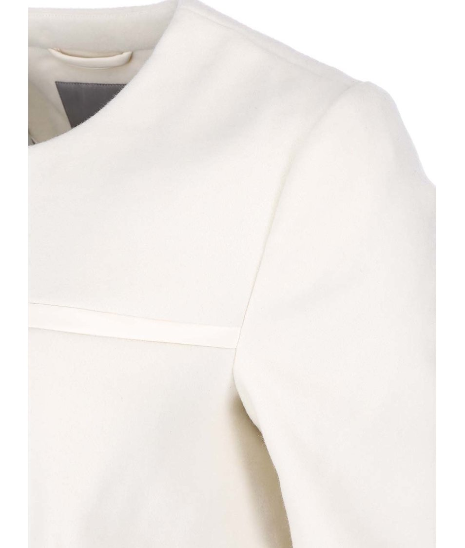 Krémový delší kabát Vero Moda Framing