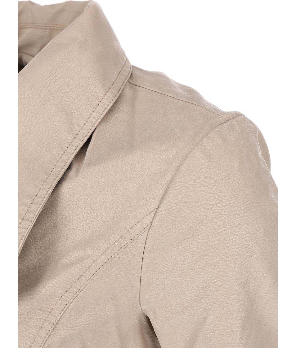 Béžová bunda Vero Moda Lizzy