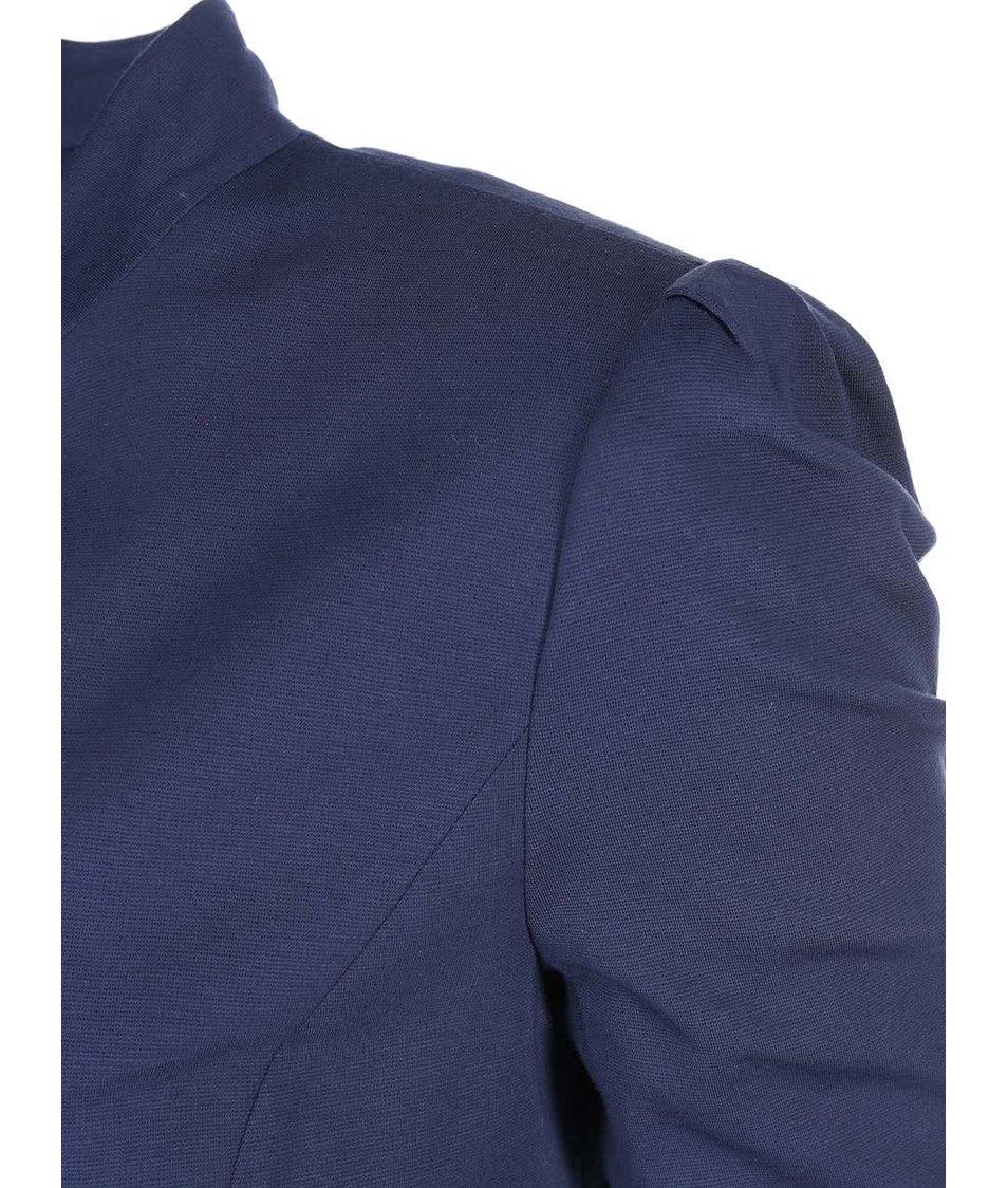 Tmavě modrý blejzr s knoflíky Vero Moda Captain