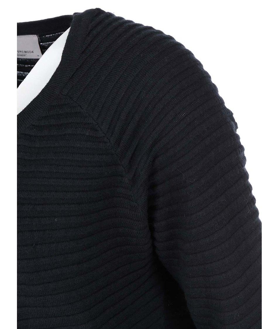 Černý oversized cardigan Vero Moda Forever
