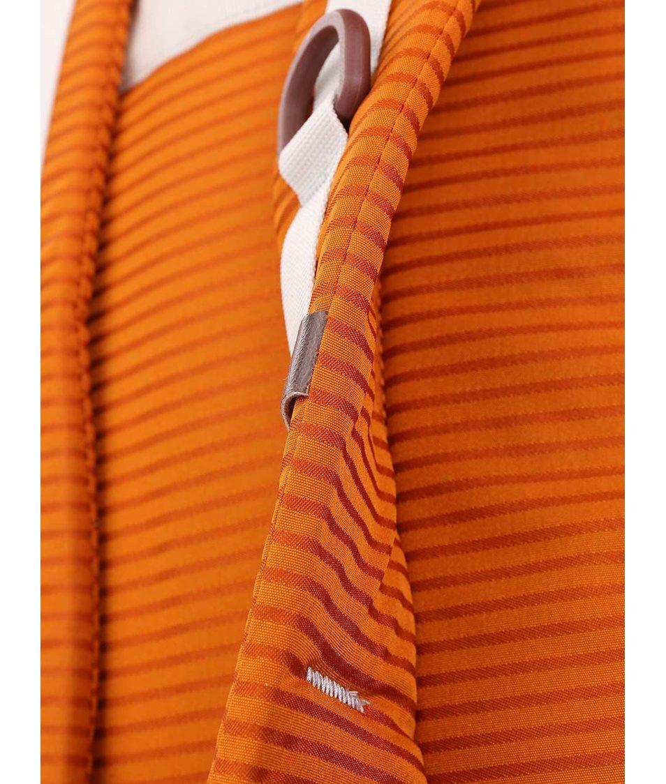 Oranžový unisex batoh s pruhy Burton Kettle