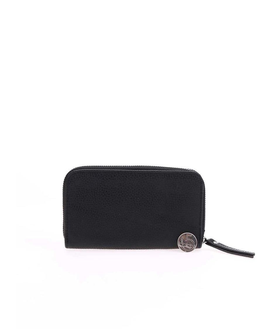 Černá peněženka na zip Pieces Dana